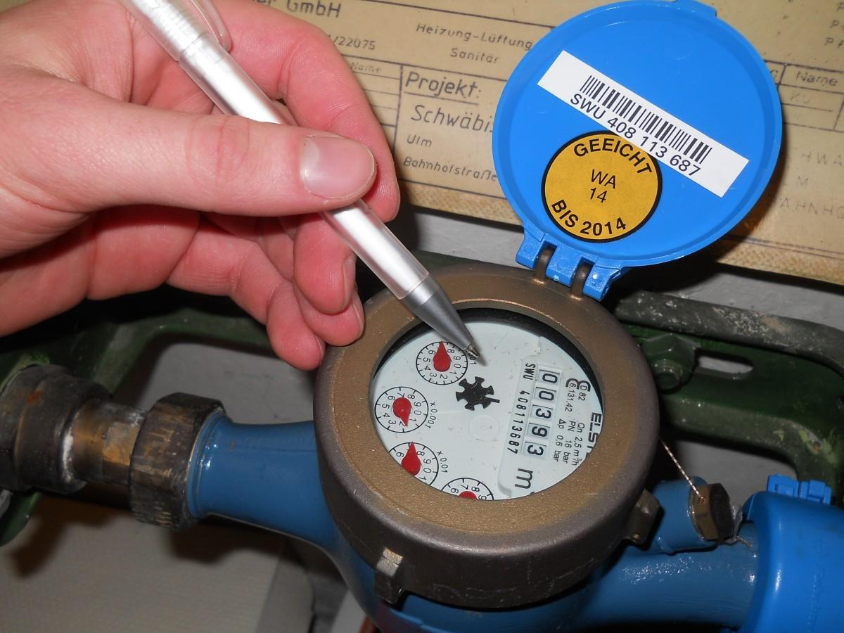 Touver la fuite selon le compteur d'eau